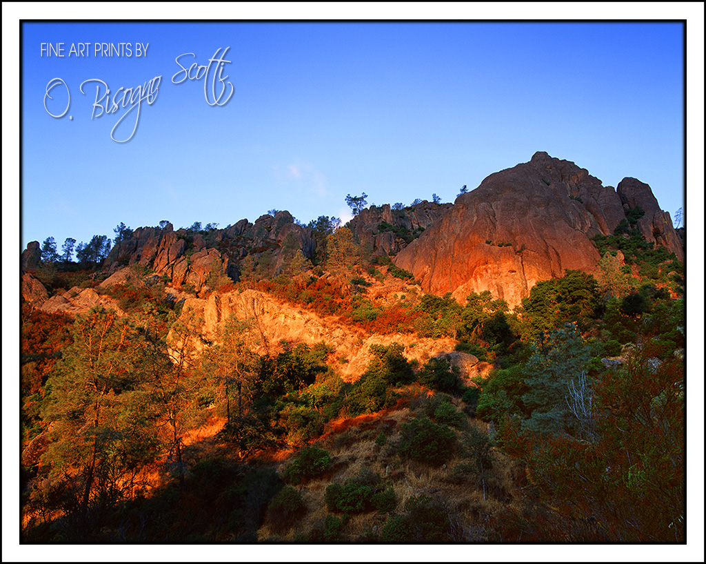 A Sunrise at Pinnacles National Monument