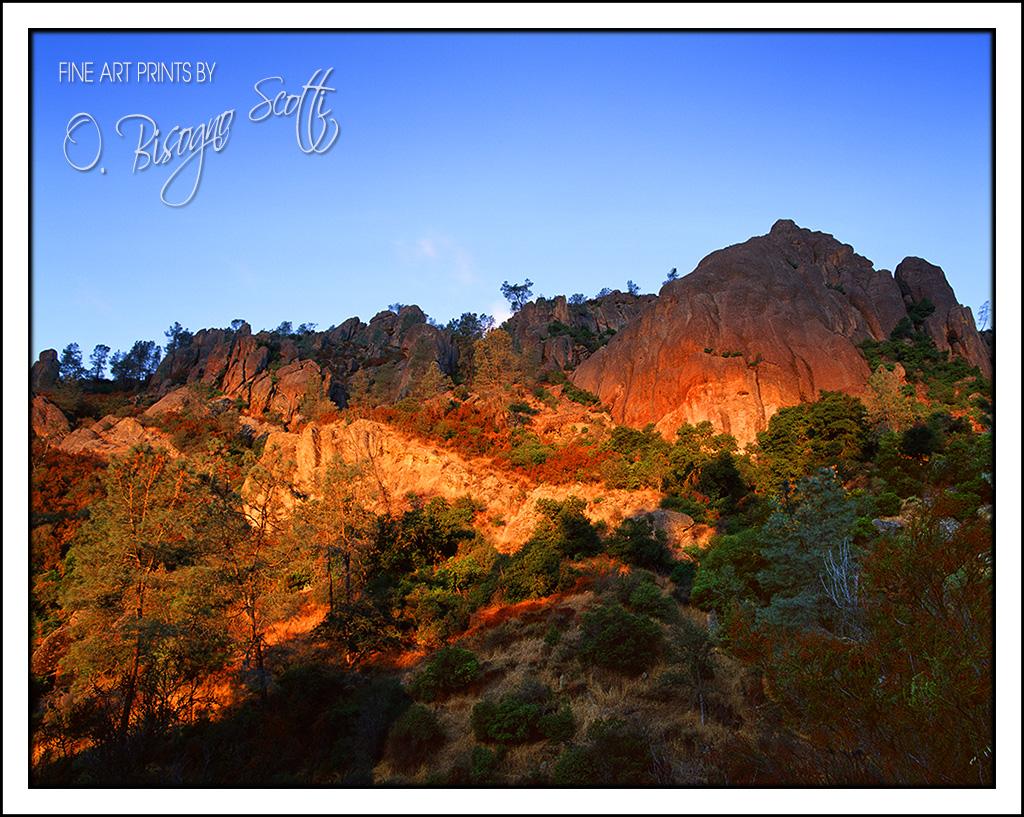 A Sunrise at Pinnacles National Monument