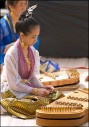Thai Festival-Girl Playing the Khim