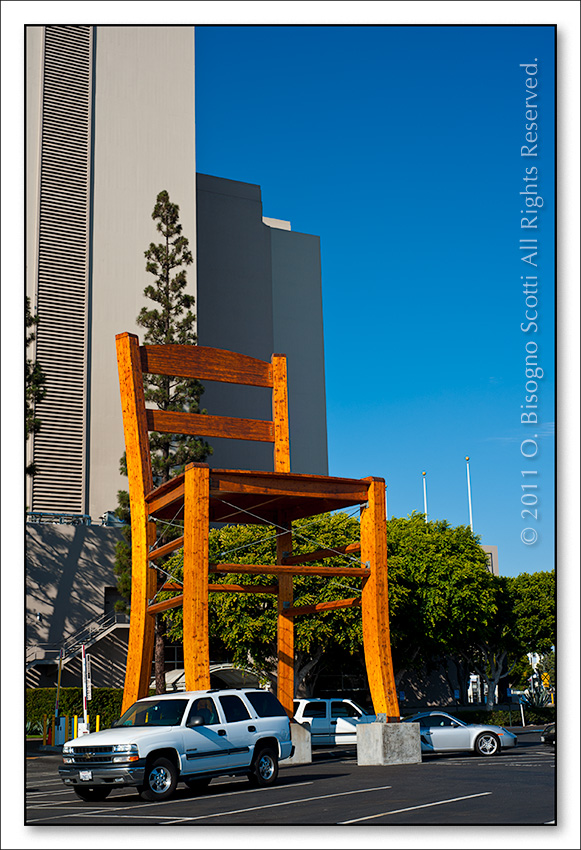 Four Story Chair, LA Mart