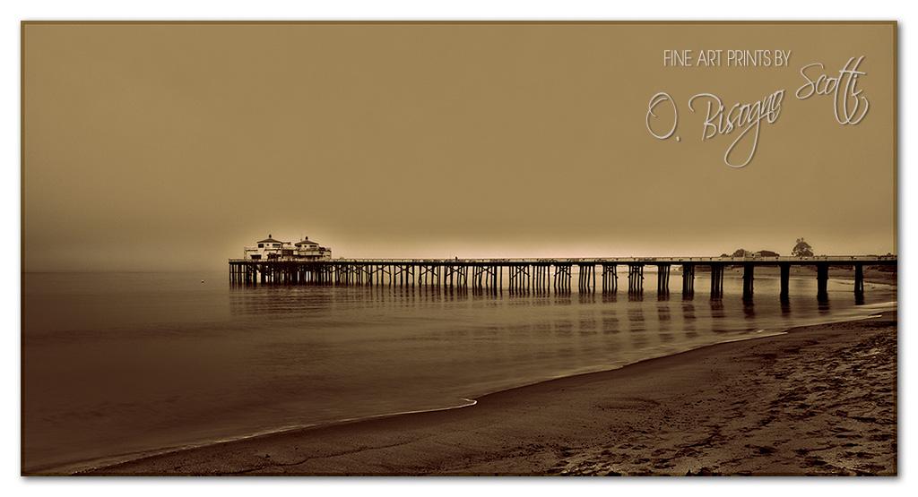 Sunrise at Malibu Pier 9/19/2011