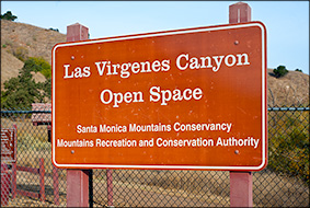 sign - Las Virgenes Canyon 11/13/2011