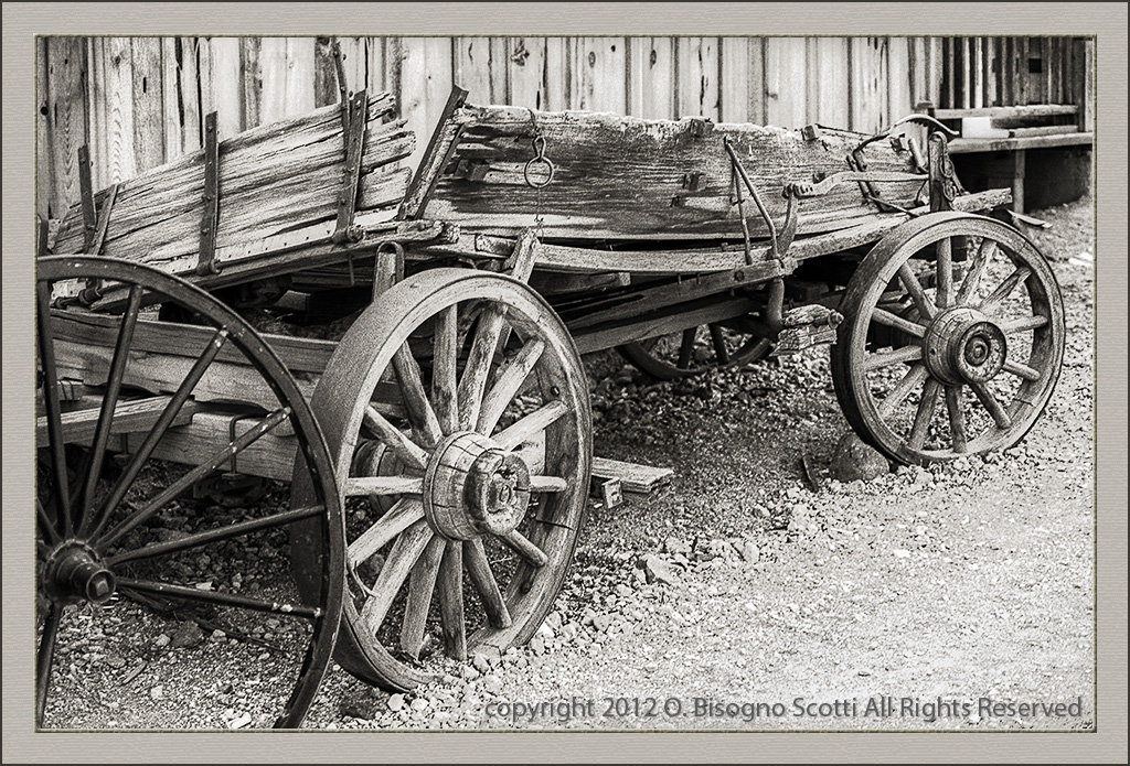 Old Wagon at Calico Ghost Town