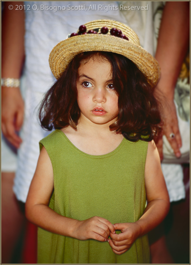 A Little Girl at Festa Italia