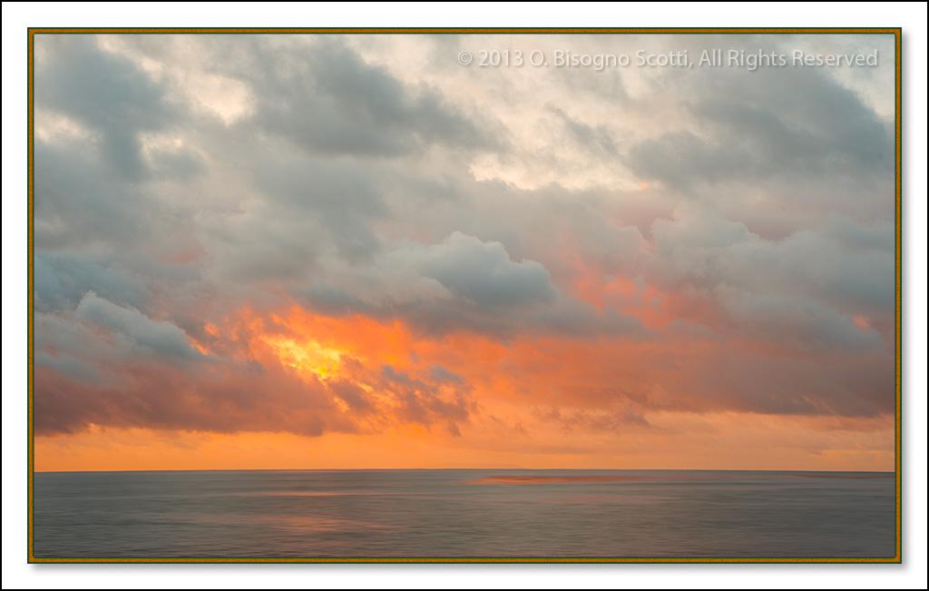 Ocean off Malibu