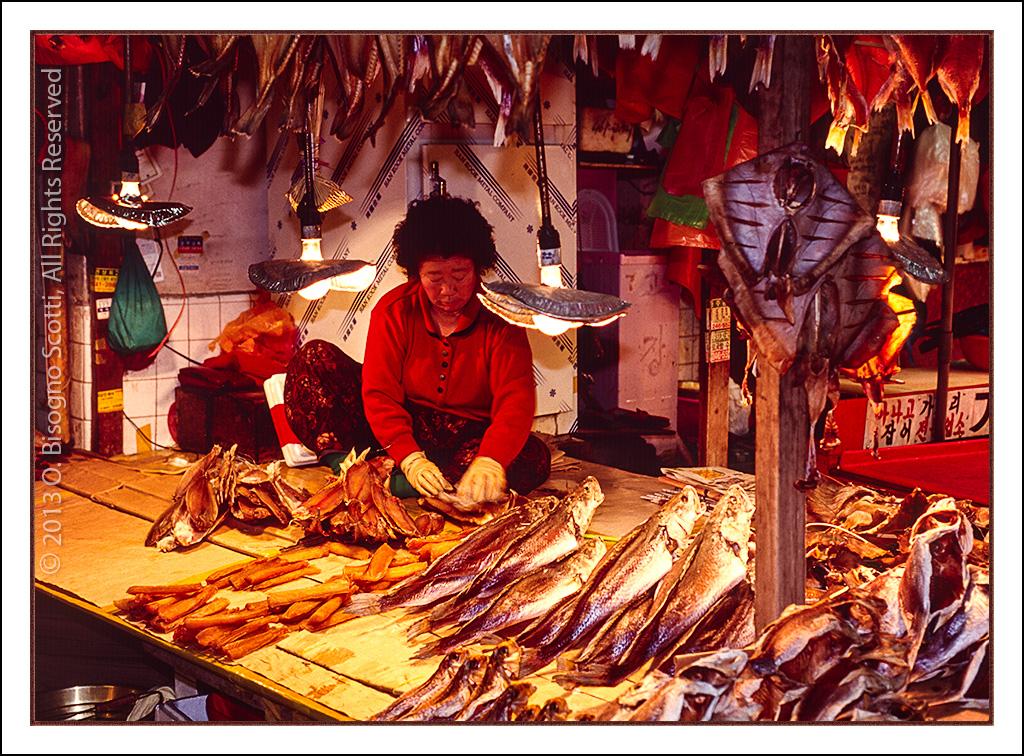 Korean Fish Monger