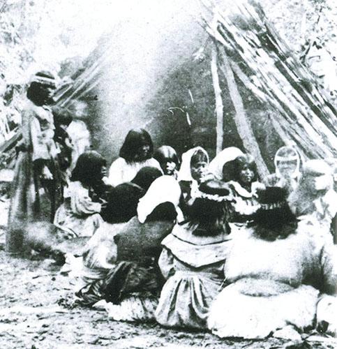 Miwok-Paiute ceremony 1872
