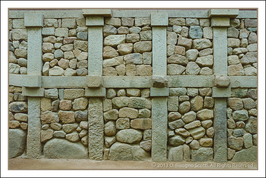 Stone Wall at Bulgooksa