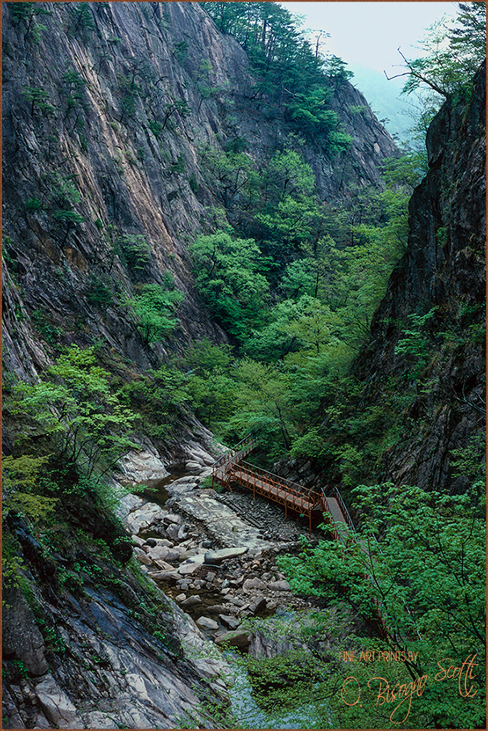 Seoraksan Mountain Pass, Korea