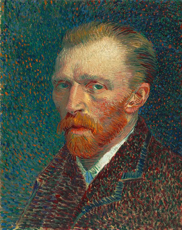 Vincent van Gogh-self portrait