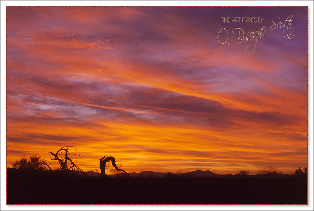 Avra Valley Sunset, Arizona