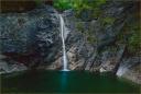 Fall, Precipice, and Pool, Seoraksan,