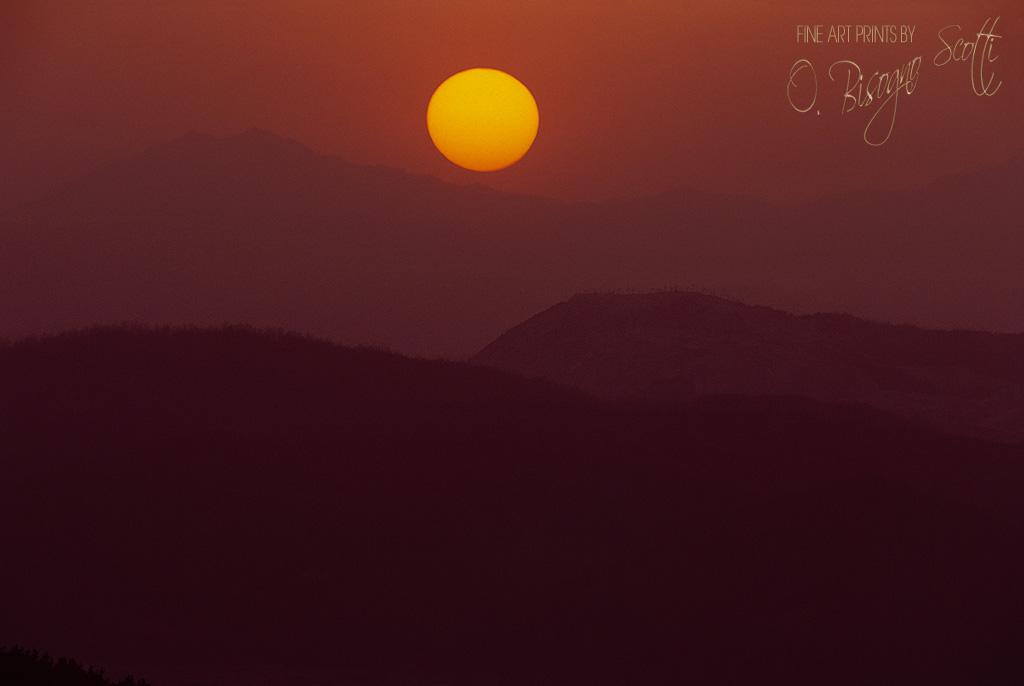 Kum Ryong Sunset-South Korea