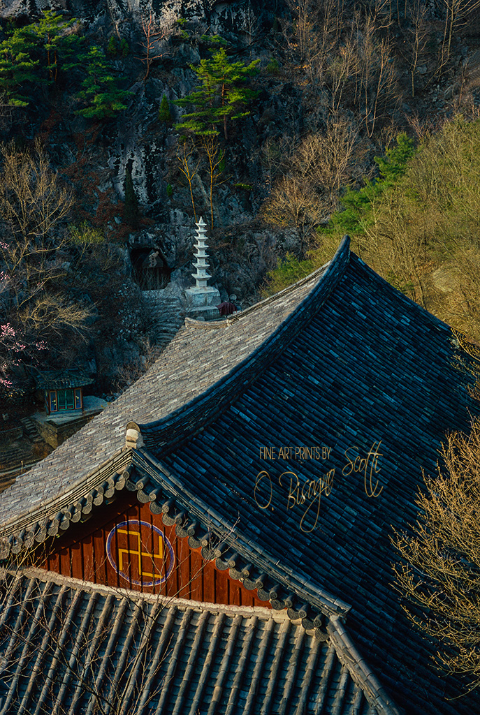 Temple at Kum Ryong, South Korea