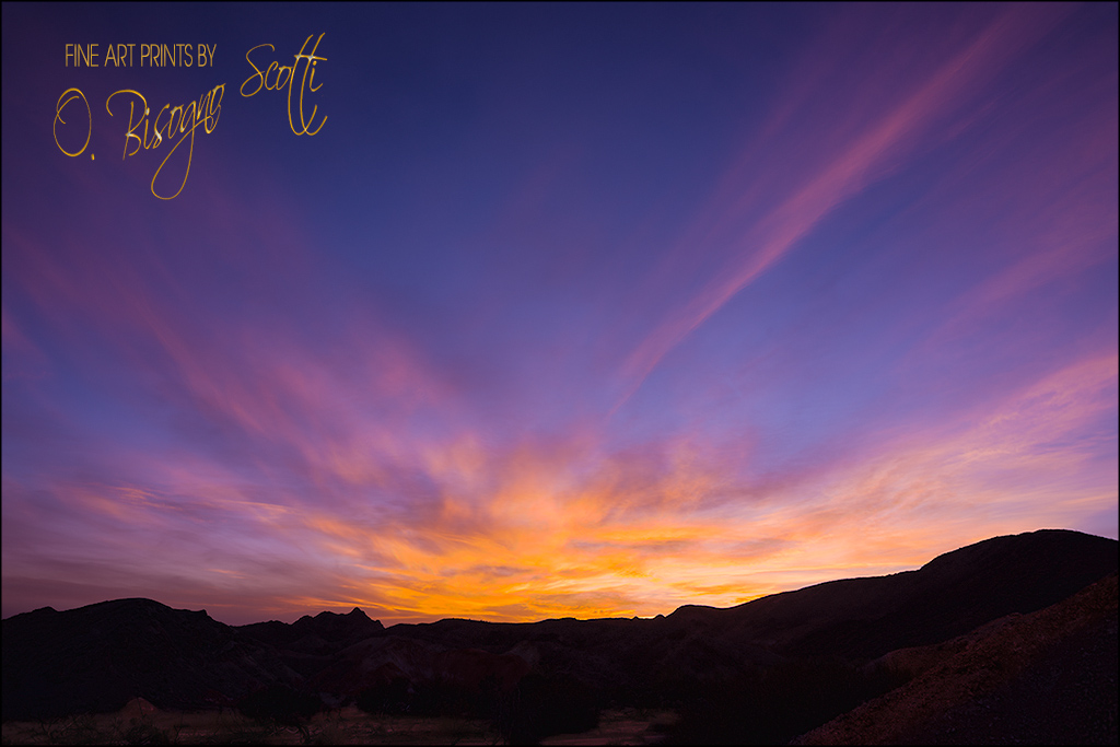 Picacho Sunset - California 2/07/207