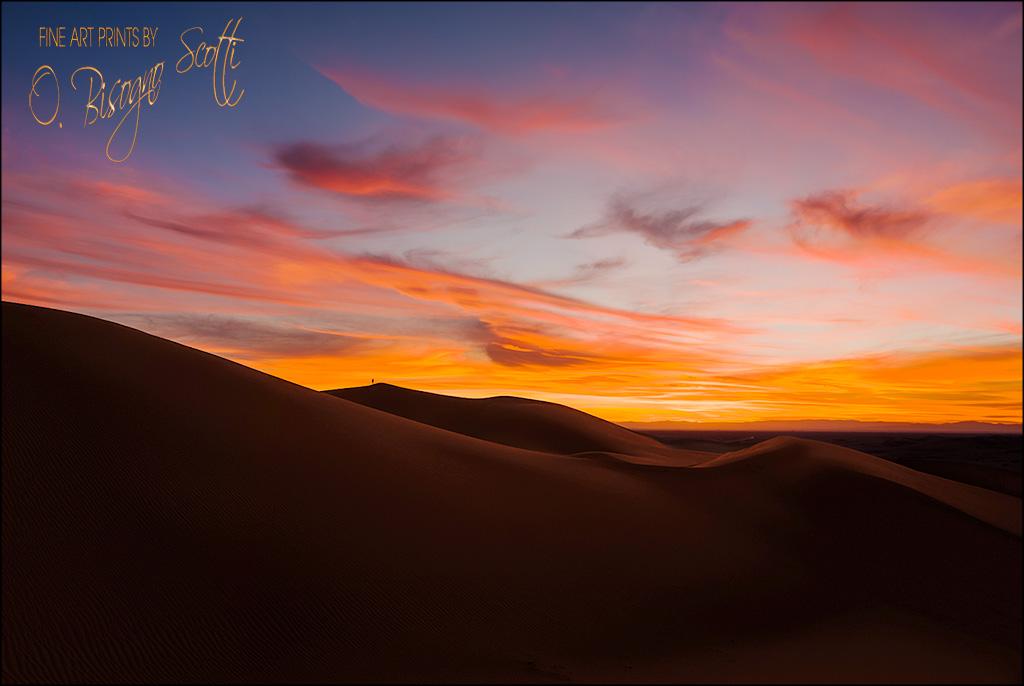 Imperial Dunes Sunset - California