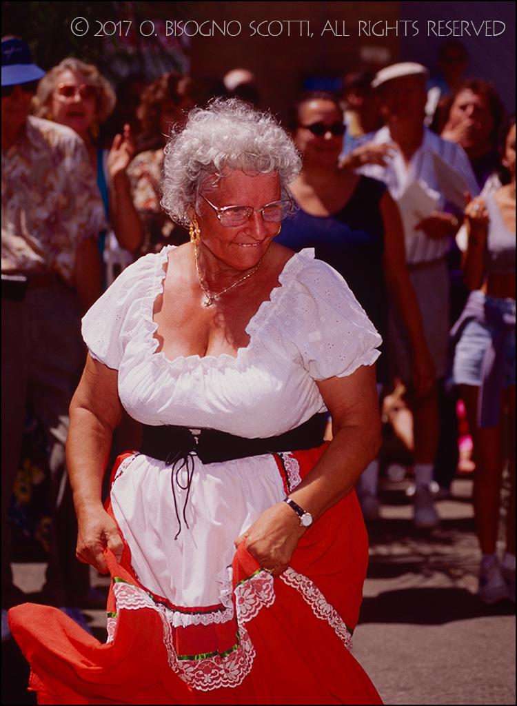 Grandma Does The Tarantella - Festa Italia