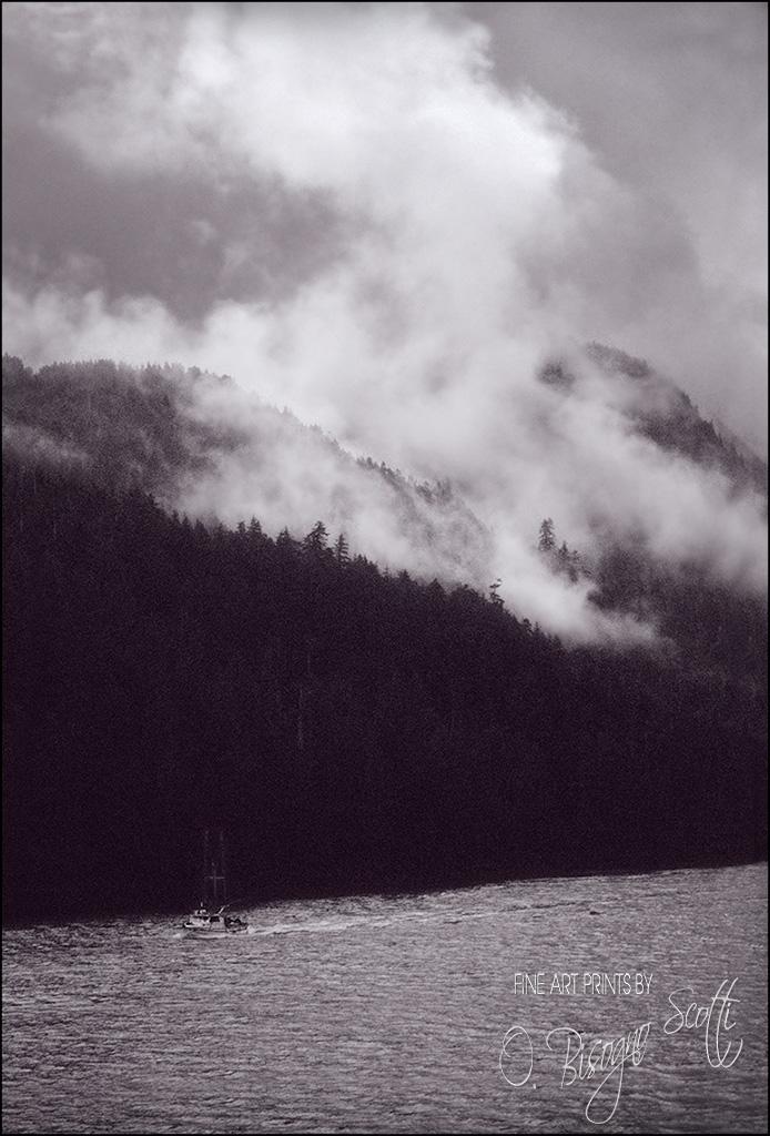 Storm Brewing Over Inner Passage, Alaska