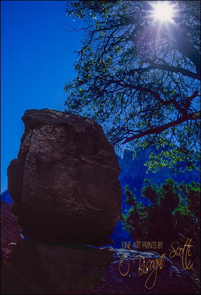 Balancing Rock, Sonoran Desert