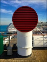 On The Queen Mary, Long Beach, CA