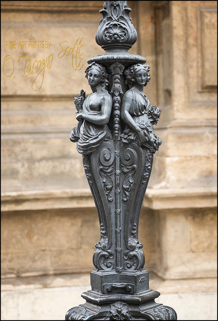 Palermo Street Lamp, Sicily