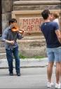 Violinist, Antonio Lunetta, Palermo