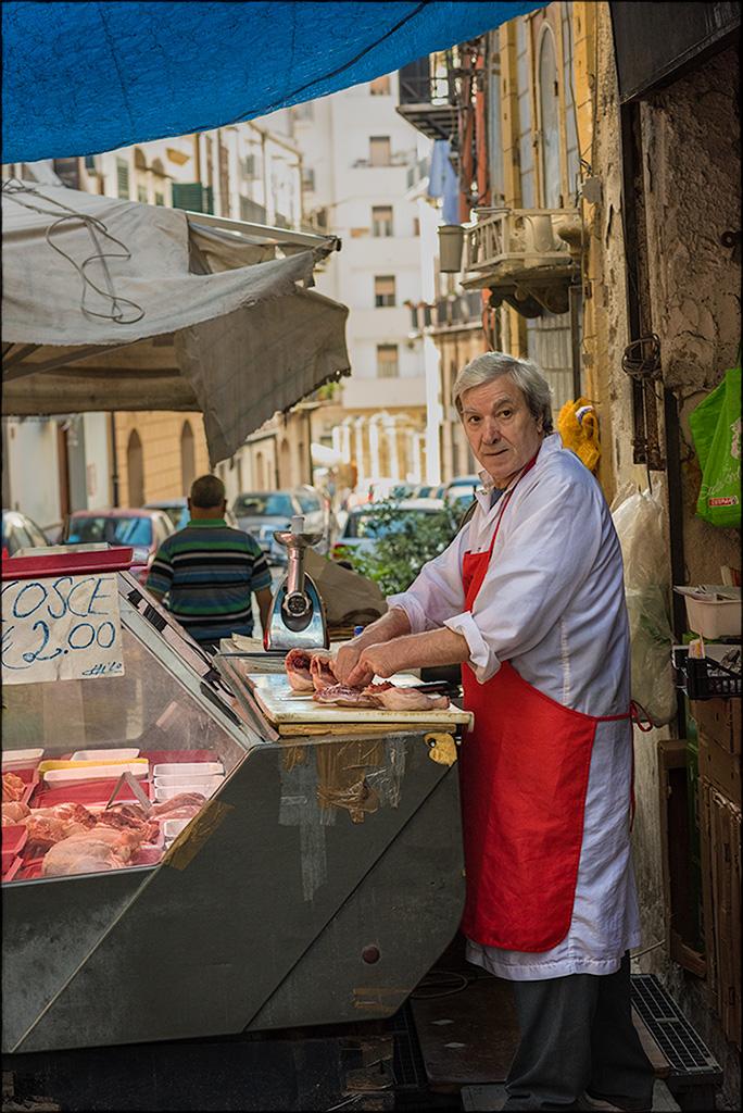 Macellaio, Palermo, Sicily