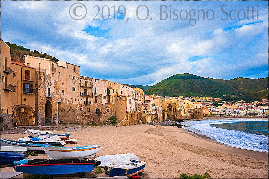 Cefalù Shoreline, Sicily